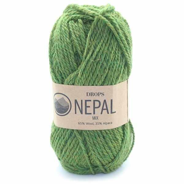 Пряжа DROPS Nepal Цвет.7238m Olive