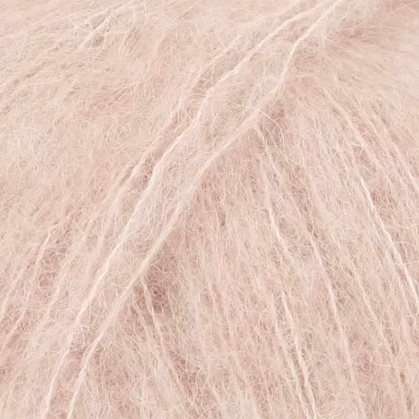 Пряжа DROPS Brushed Alpaca Silk Цвет.20 Pink sand