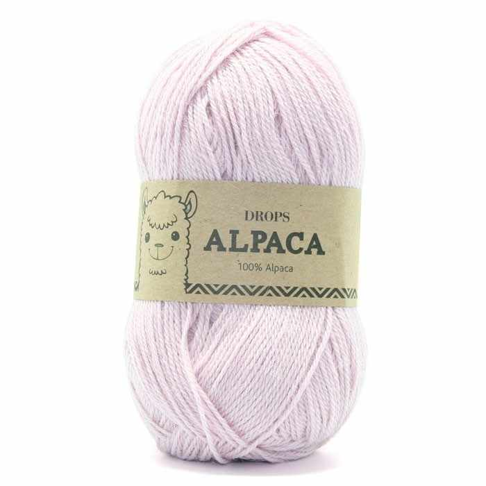 Пряжа DROPS Alpaca Цвет.3112 Dusty pink/пыльная роза