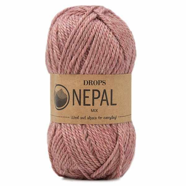 Пряжа DROPS Nepal Цвет.8912 Blush