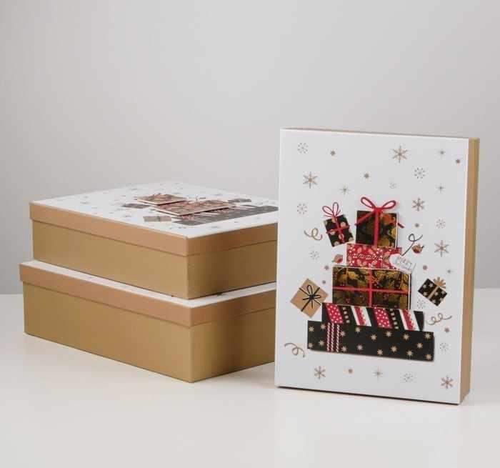 4384982 Наборк коробок 3в1 «Подарочки»