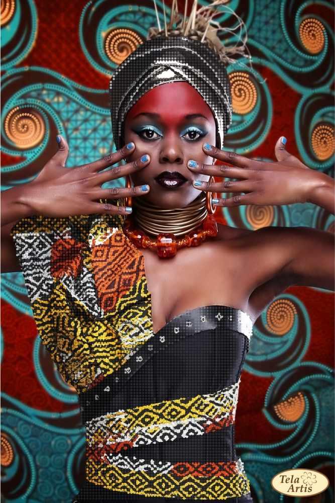 ТА-414 - схема для вышивки Африка-1 - схема (Tela Artis)