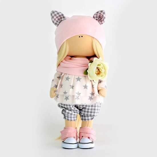 Набор для шитья текстильной куклы Китти
