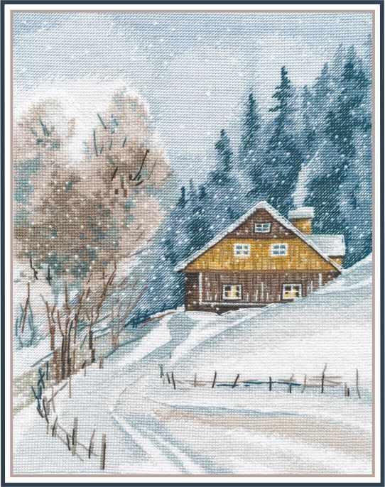 1242 Зимняя тишина
