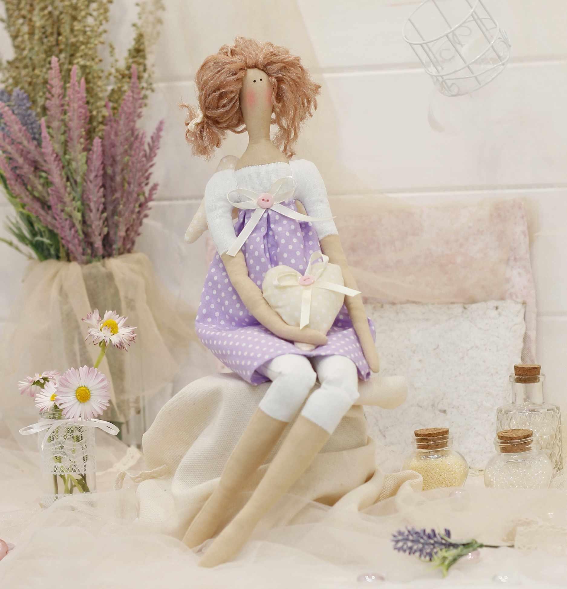 Ш136 Набор для шитья и рукоделия Ангелочек Элис