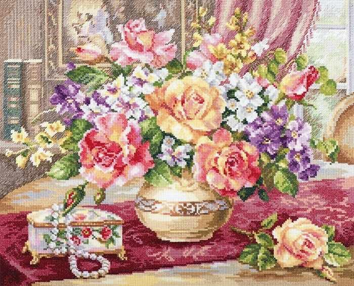 2-50 Розы в гостиной