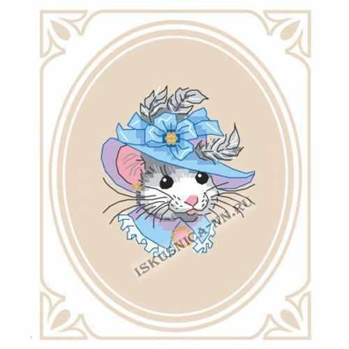 м8210/2 Мышка в шляпе