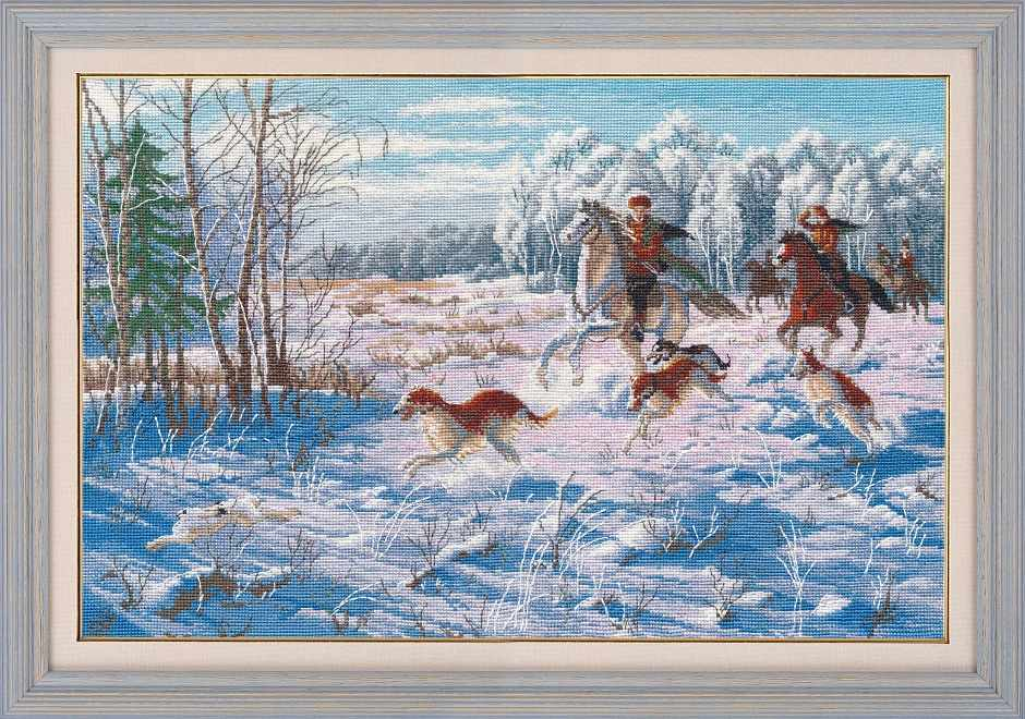 1258 Зимняя охота (Овен)