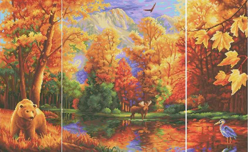 ММЖМ-016 Осенний лес