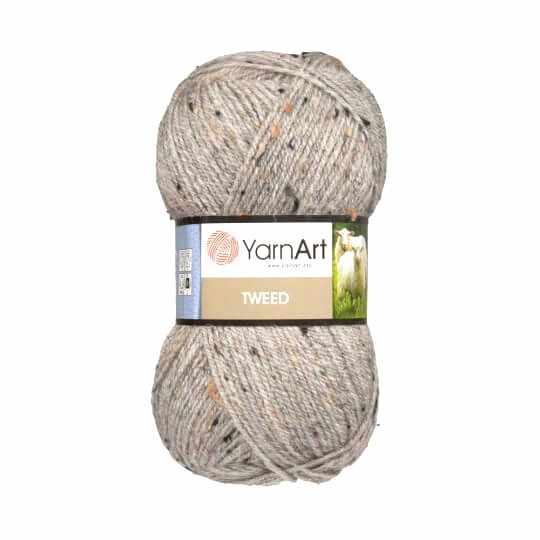 Пряжа YarnArt TWEED YARNART Цвет.226 Светло-серый