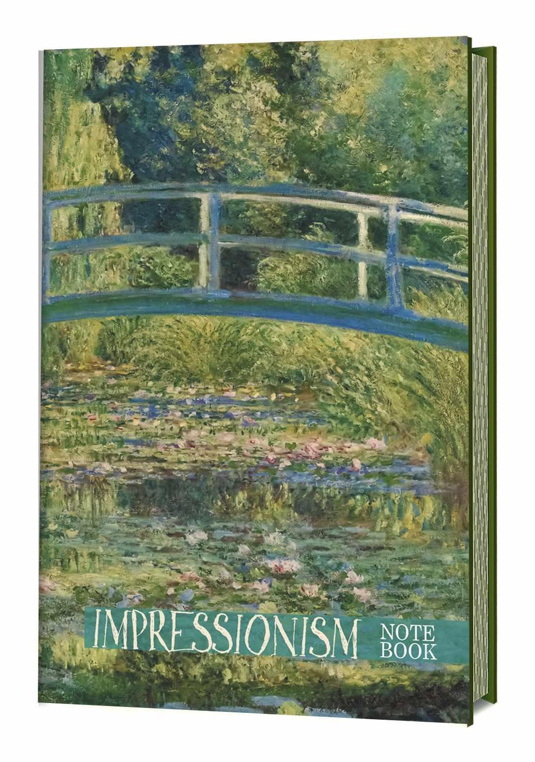 Записная книжка Импрессионизм (Моне. Пруд с водяными лилиями)