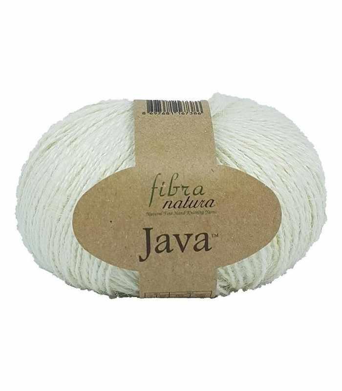 Пряжа Fibra Natura Java Цвет.228-01 Натуральный