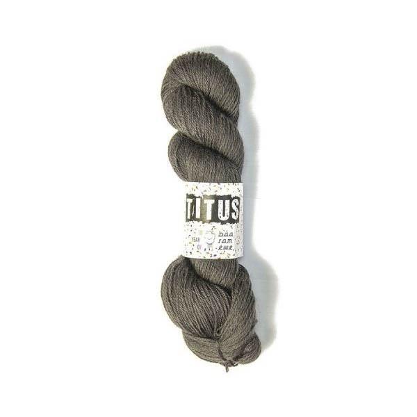 Пряжа Baa Ram Titus Цвет.008 Coal
