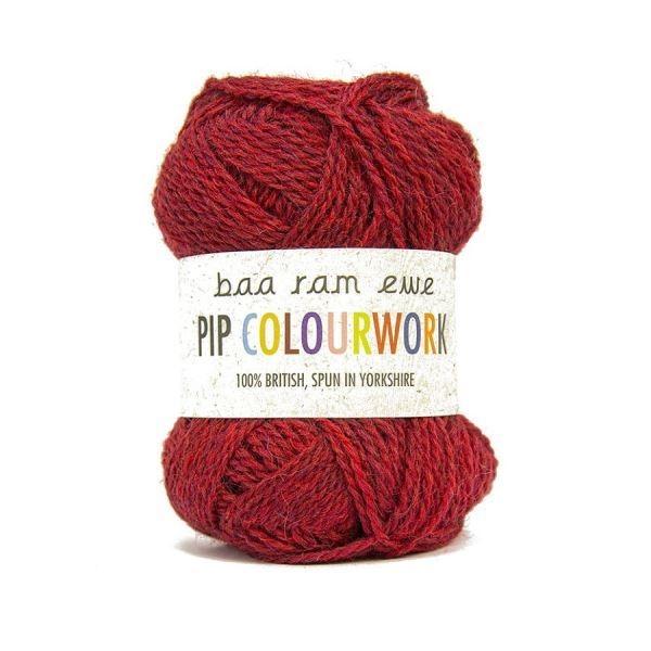 Пряжа Baa Ram Pip Colourwork Цвет.009 Wesley Bob