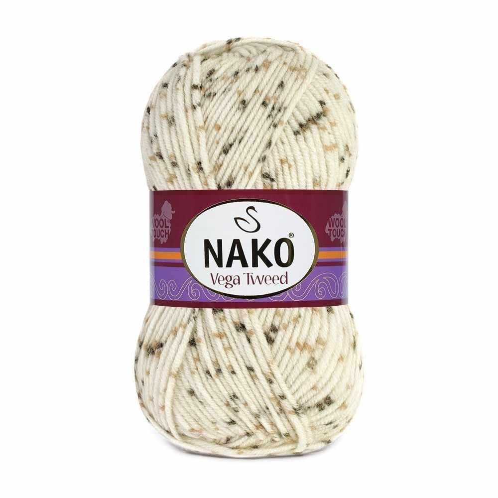 Пряжа Nako Vega Tweed Цвет.35017