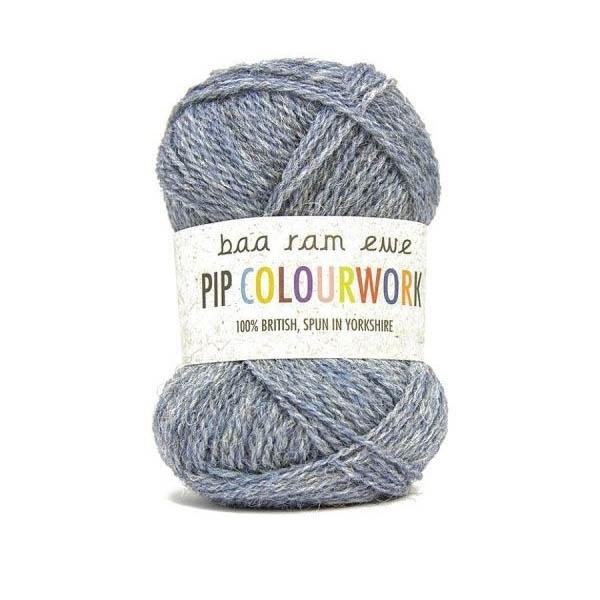 Пряжа Baa Ram Pip Colourwork Цвет.007 Aire