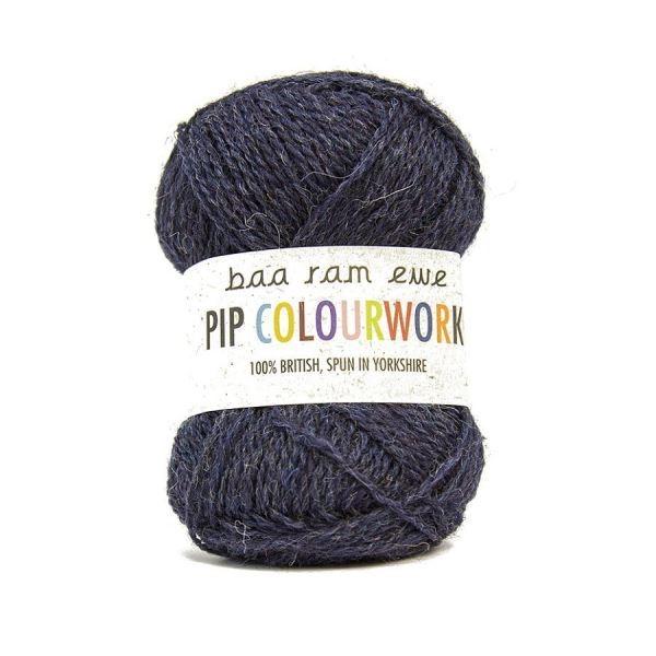 Пряжа Baa Ram Pip Colourwork Цвет.015 Endeavour