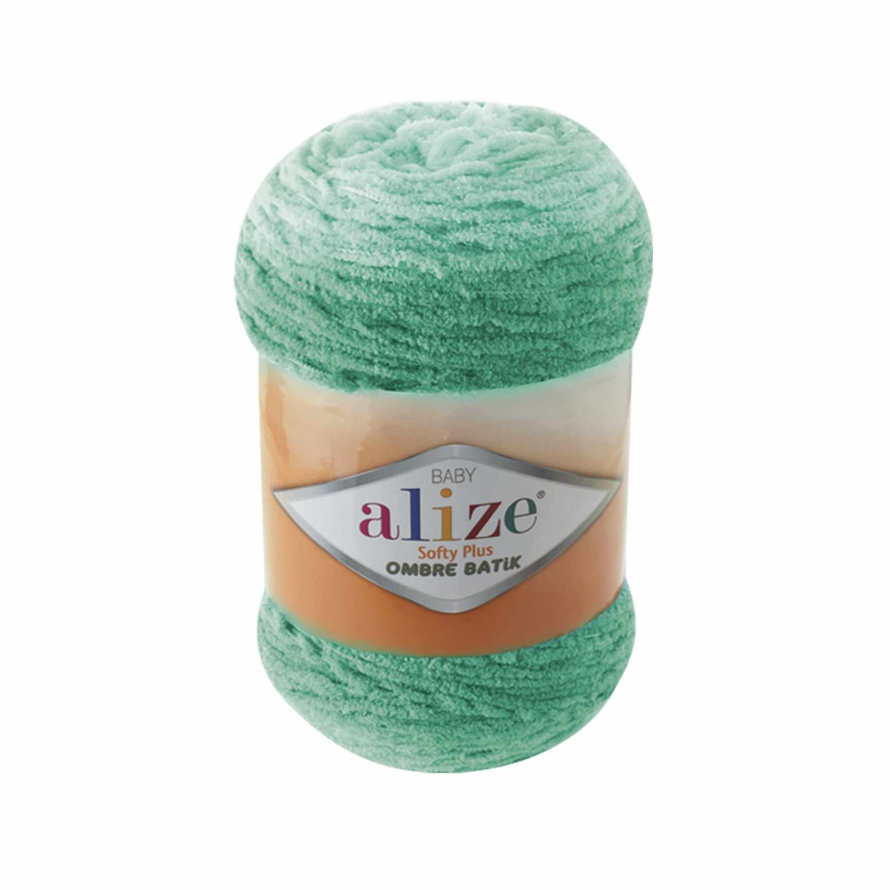 Пряжа Alize Softy Plus Ombre Batik Цвет.7286