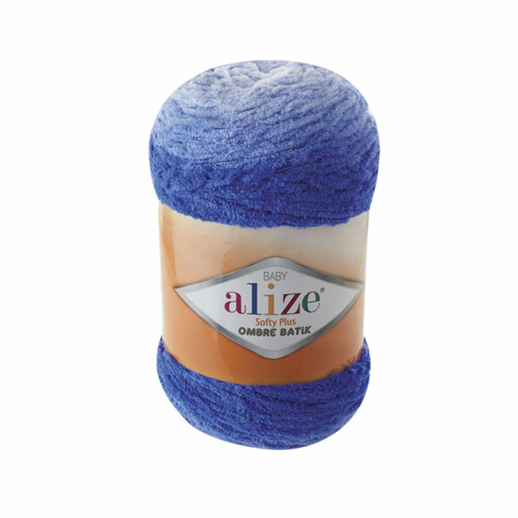 Пряжа Alize Softy Plus Ombre Batik Цвет.7282