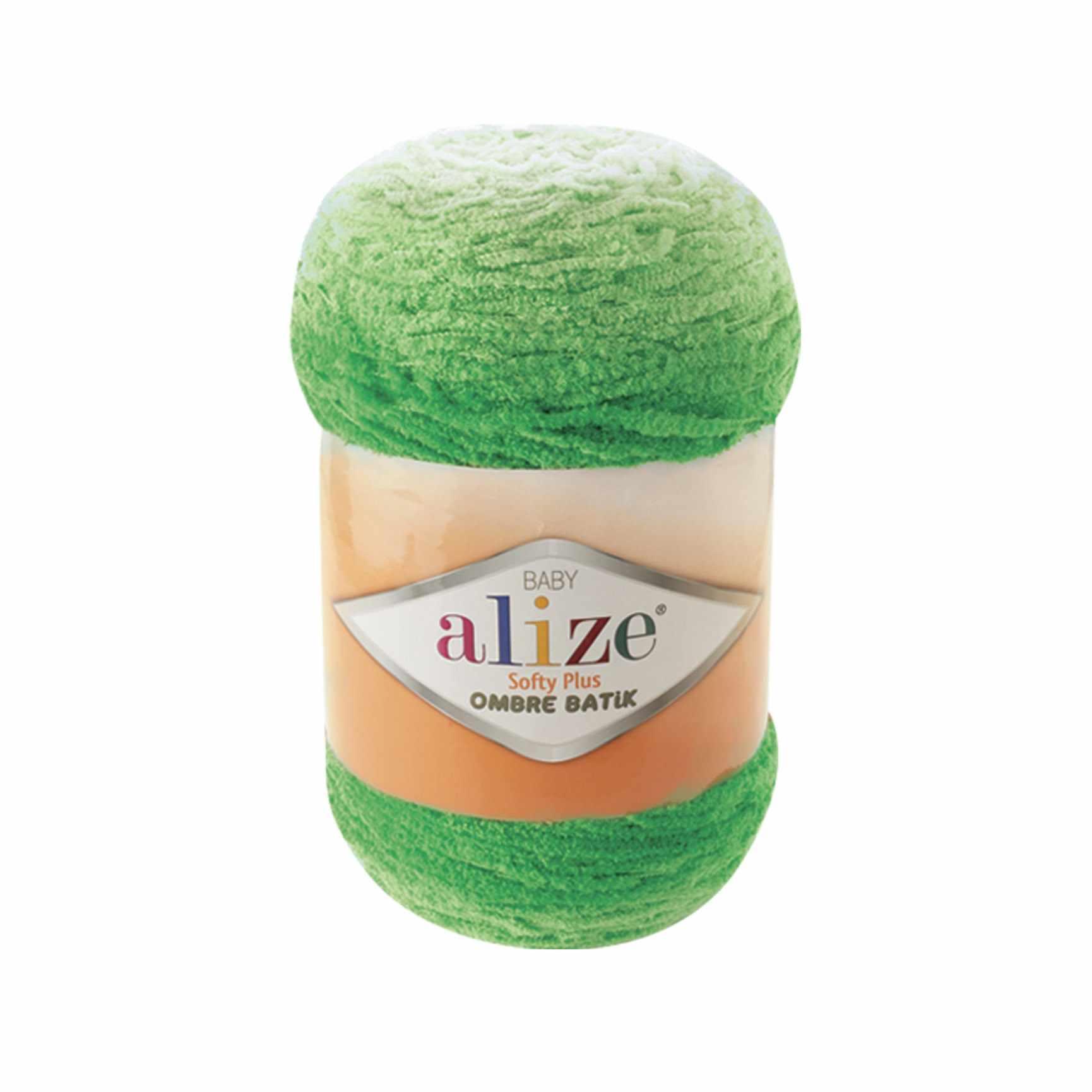 Пряжа Alize Softy Plus Ombre Batik Цвет.7287