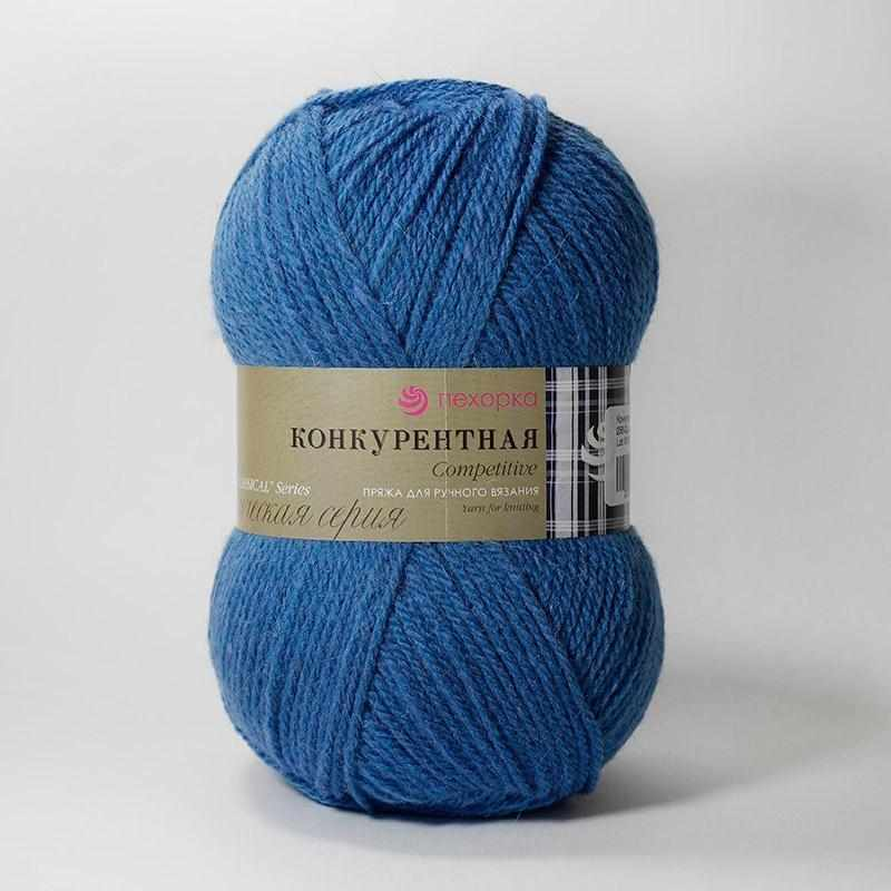 Пряжа Пехорка Конкурентная Цвет.256 Светлая джинса