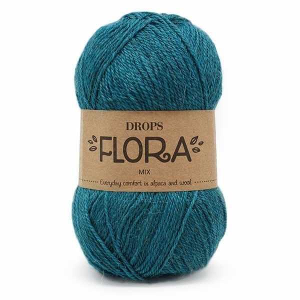 Пряжа DROPS Flora Цвет.11