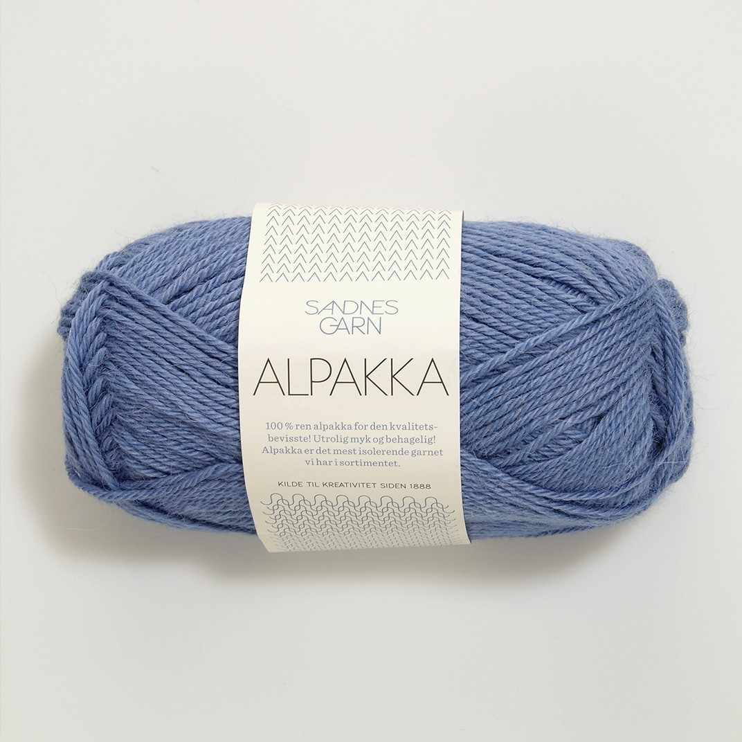 Пряжа SANDNES GARN Alpakka Цвет.5834 Lavendel