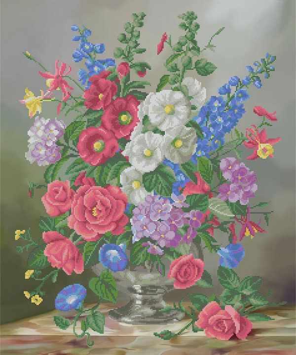 ММН-034 Сентябрьская цветочная композиция