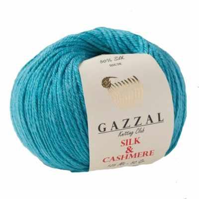 Пряжа GAZZAL Silk & Cashmere Цвет.454