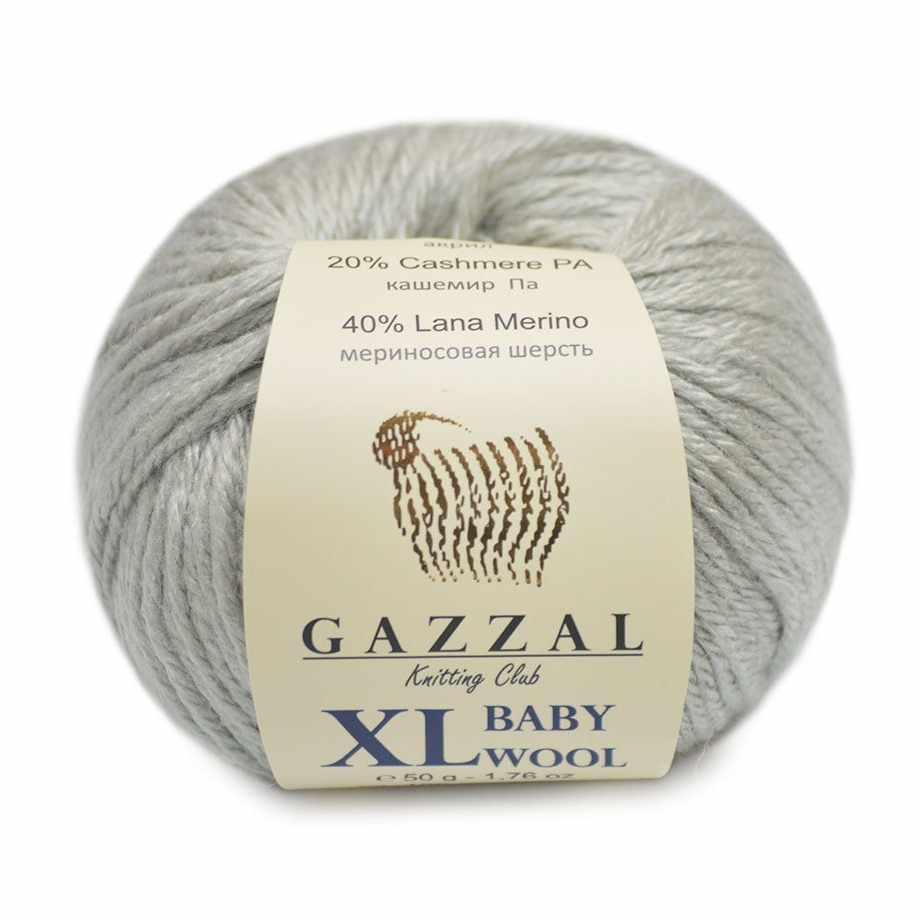 Пряжа GAZZAL Baby Wool XL Цвет.817XL