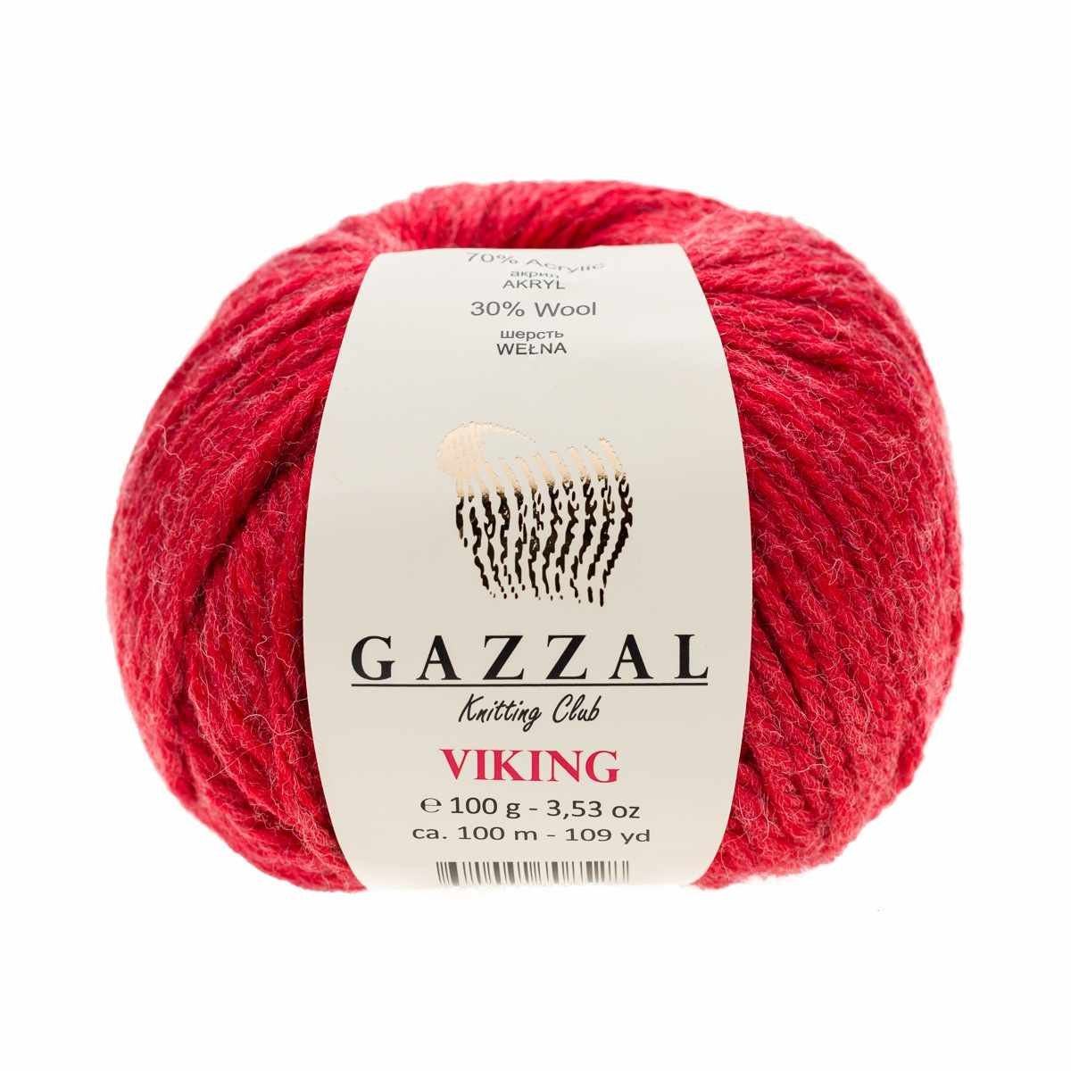 Пряжа GAZZAL VIKING Цвет.4021