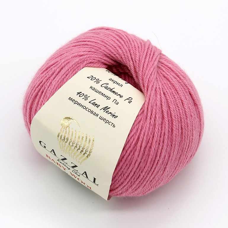 Пряжа GAZZAL Baby Wool XL Цвет.831XL