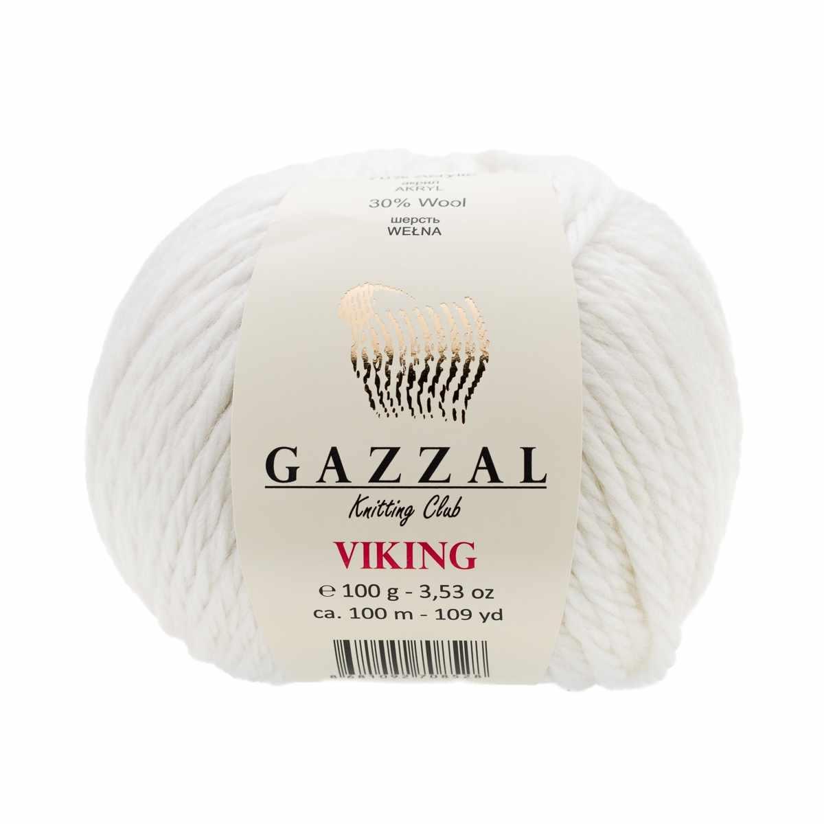 Пряжа GAZZAL VIKING Цвет.4009