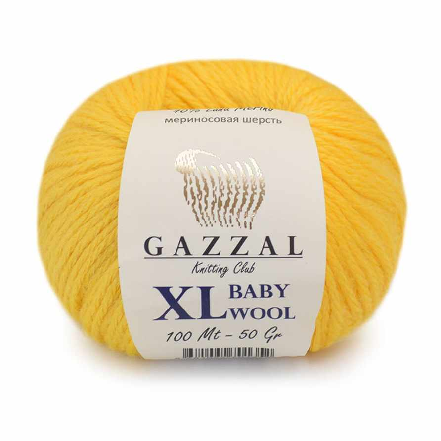 Пряжа GAZZAL Baby Wool XL Цвет.812XL