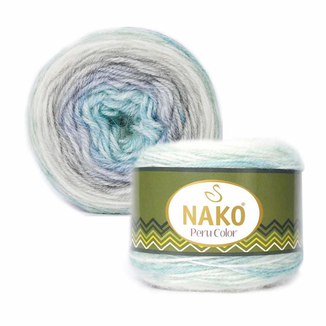 Пряжа Nako PERU COLOR Цвет.32182