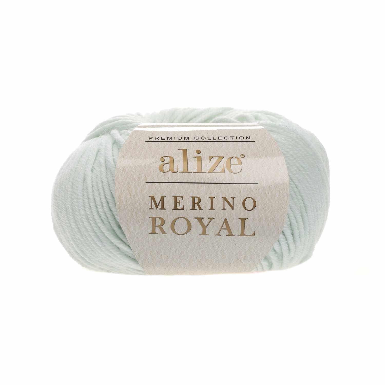 Пряжа Alize Merino Royal Цвет.522 Светлая мята