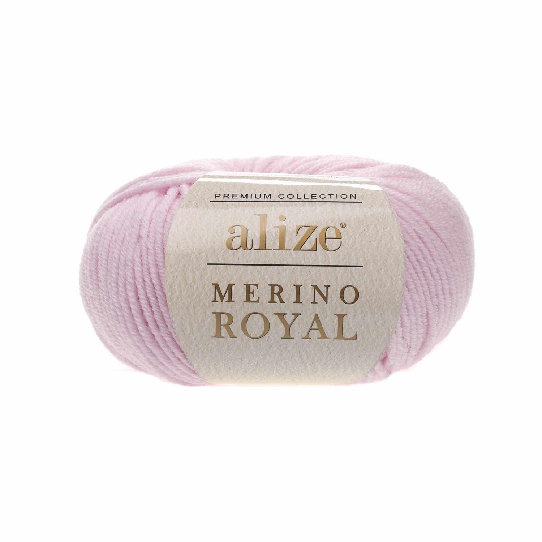 Пряжа Alize Merino Royal Цвет.31 Розовый