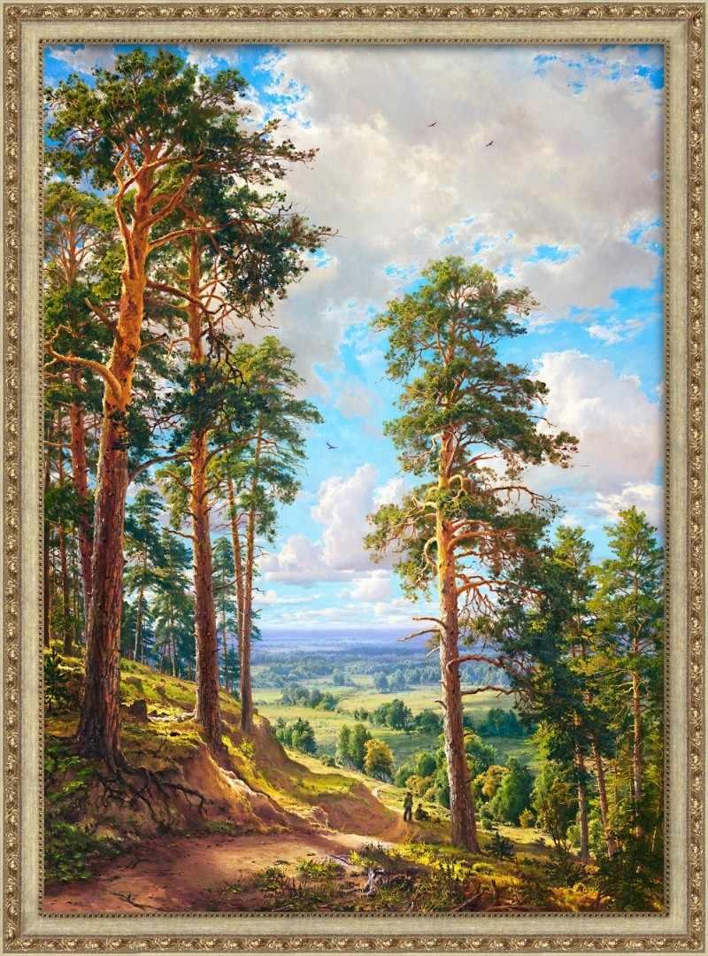 Алмазная вышивка Орлиная песня (АЖ-1814) - картина стразами