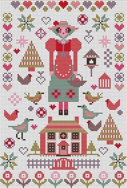 Mini Pink House