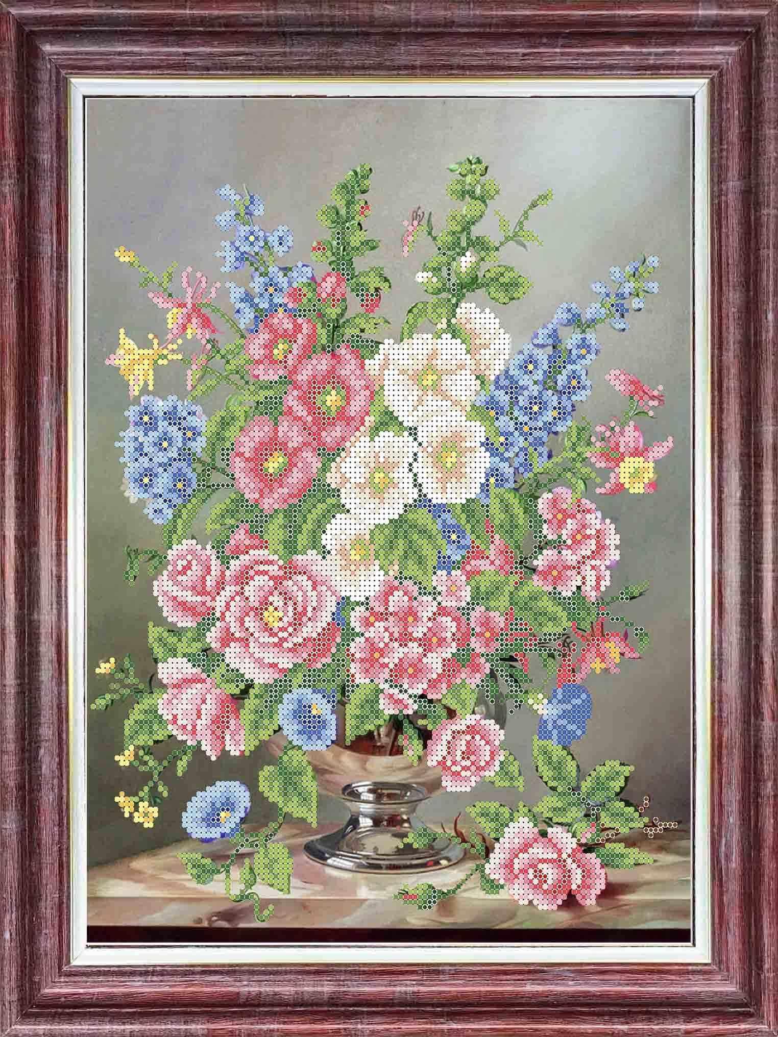 КБЦ 3054 Весеннее чувство - схема (Каролинка)