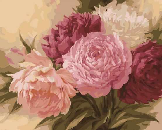 KH0055/1 Оттенки розового