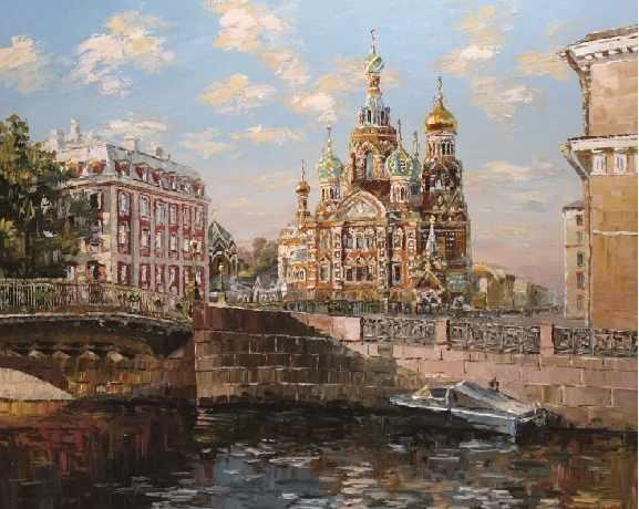 KH0141/1 Санкт-Петербург. Канал Грибоедова