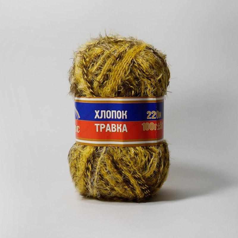 Пряжа Камтекс Хлопок травка Цвет.250 Разноцветный 9