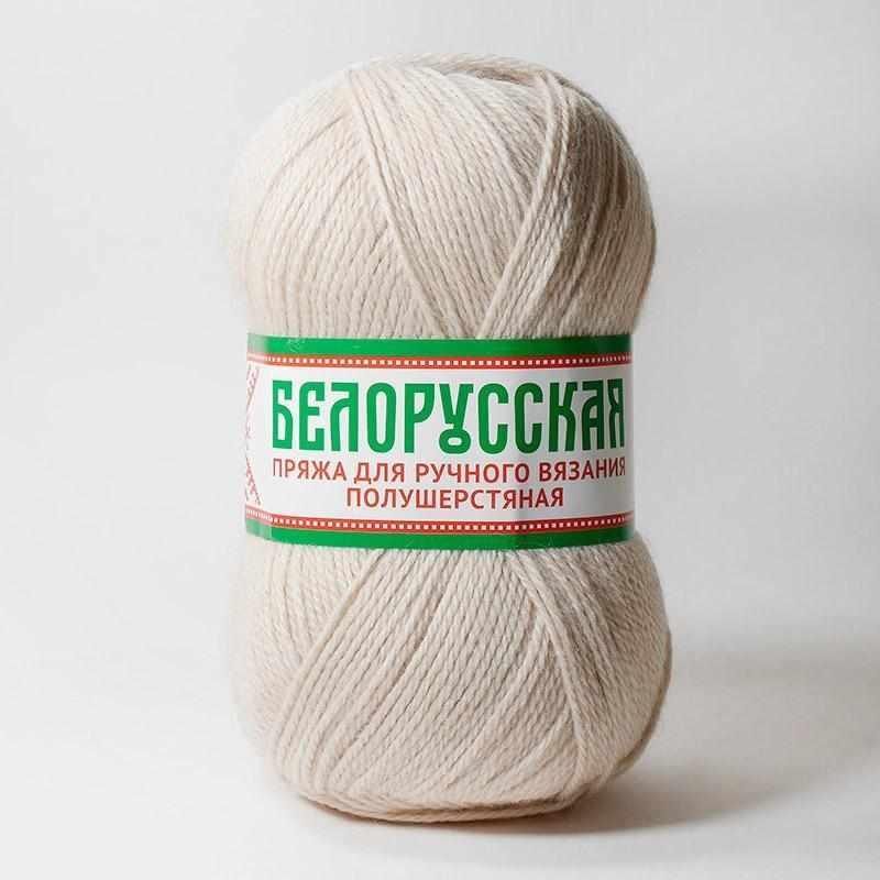 Пряжа Камтекс Белорусская Цвет.Топленое молоко