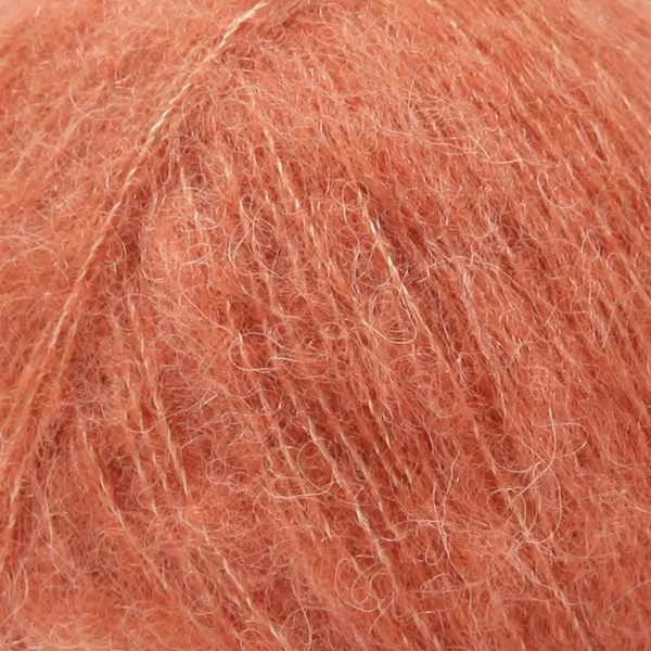 Пряжа DROPS Brushed Alpaca Silk Цвет.22