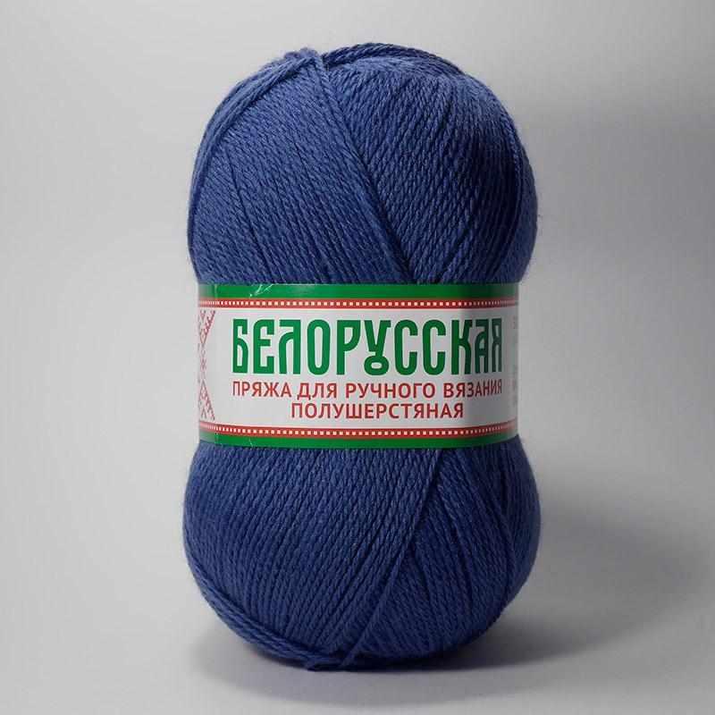 Пряжа Камтекс Белорусская Цвет.022 Джинса