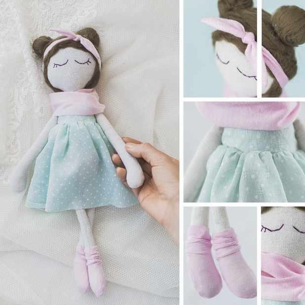 3548688 Интерьерная кукла «Лола», набор для шитья