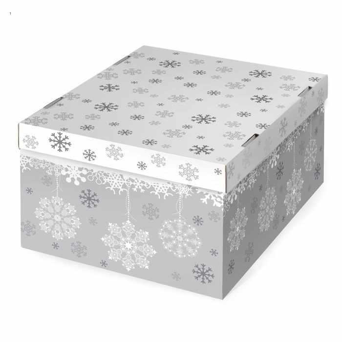 2406222 Складная коробка Let it snow