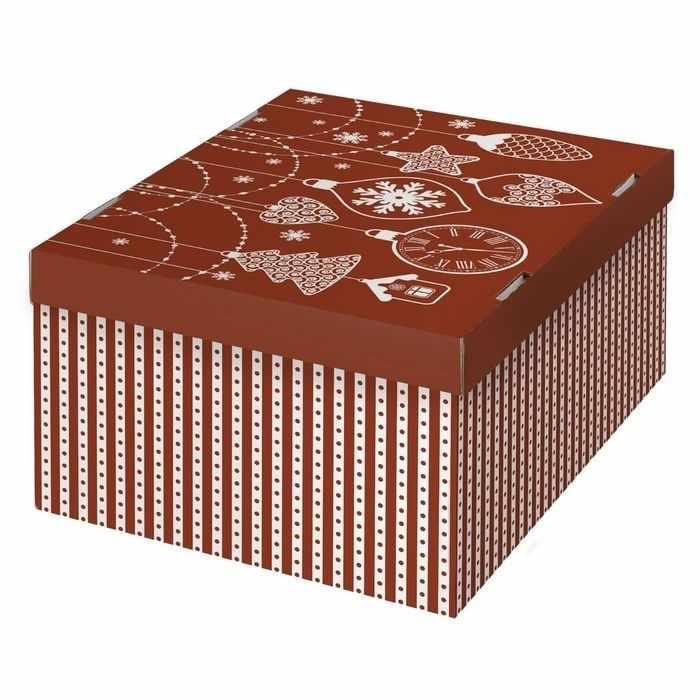 2406219 Складная коробка «Яркий праздник»