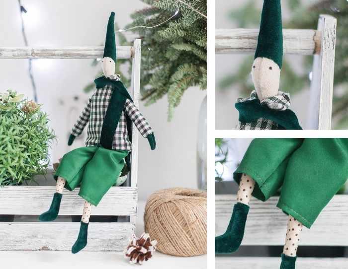 4263010 Мягкая кукла «Гном Эрл», набор для шитья